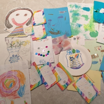 Photo of Letters and pictures of love from Macedon Primary