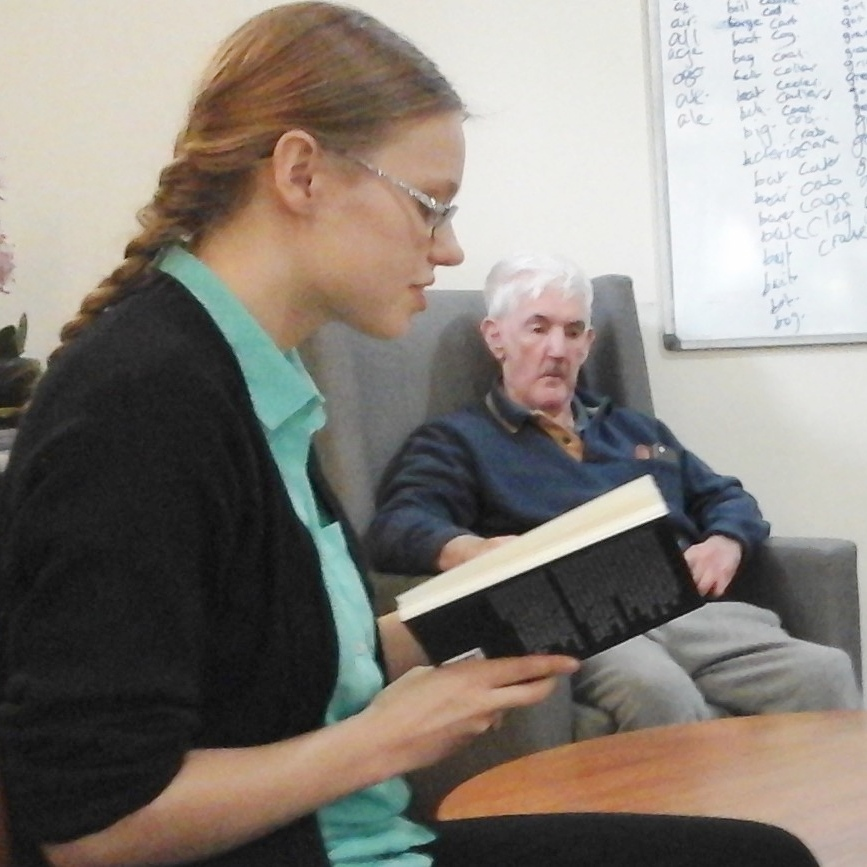 Photo of Care workers find new ways to entertain residents at St John's