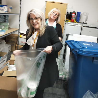 Photo of South West Community Health and Care Team donate supplies