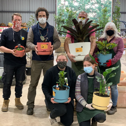 Photo of Riddells Creek Nursery donates plants
